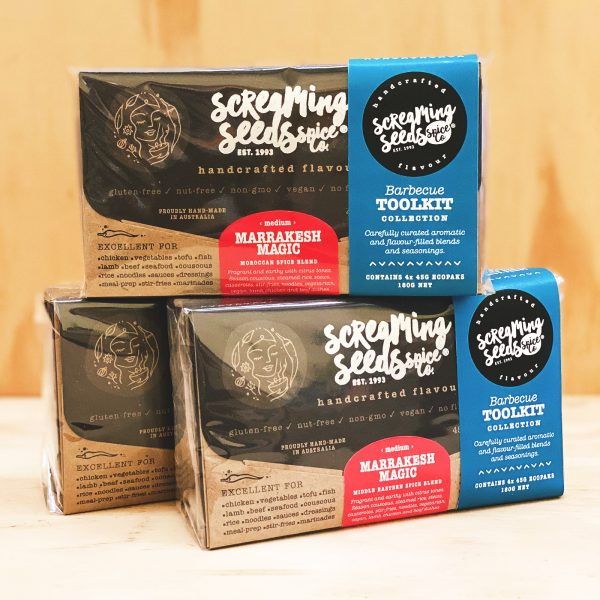Barbecue Toolkit Collection –Spice Blend Gift Pack