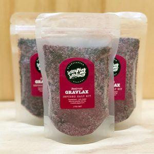 Beetroot Gravlax Kit