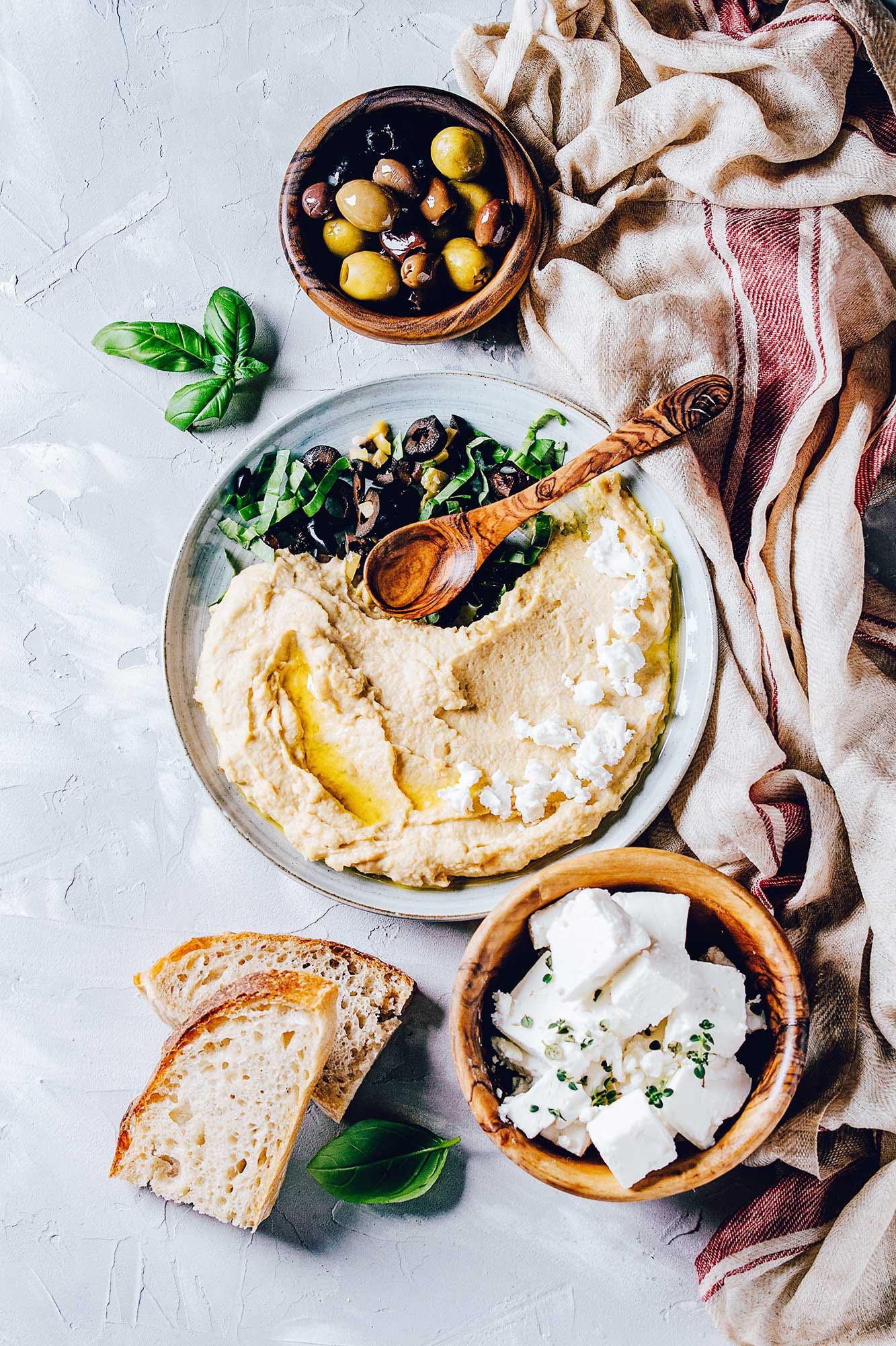 White Bean and Chickpea Hummus